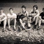 Promotionsfoto der Band Strandheizung von 2011.