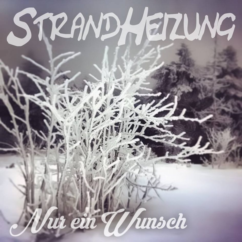 """Cover der Single """"Nur ein Wunsch"""" der Singer-Songwriter-Band Strandheizung von 2015. Foto: Richard Kube."""
