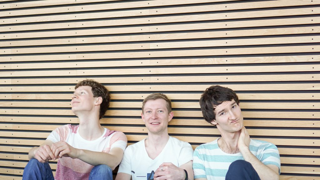 Pressefoto der Singer-Songwriter-Band Strandheizung von 2016