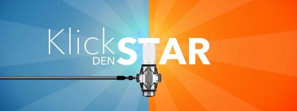 """Logo des Wettbewerbs """"Klick den Star"""" des MDR, bei dem die Singer-Songwriter-Band Strandheizung 2016 teilnahm. Grafik: MDR."""