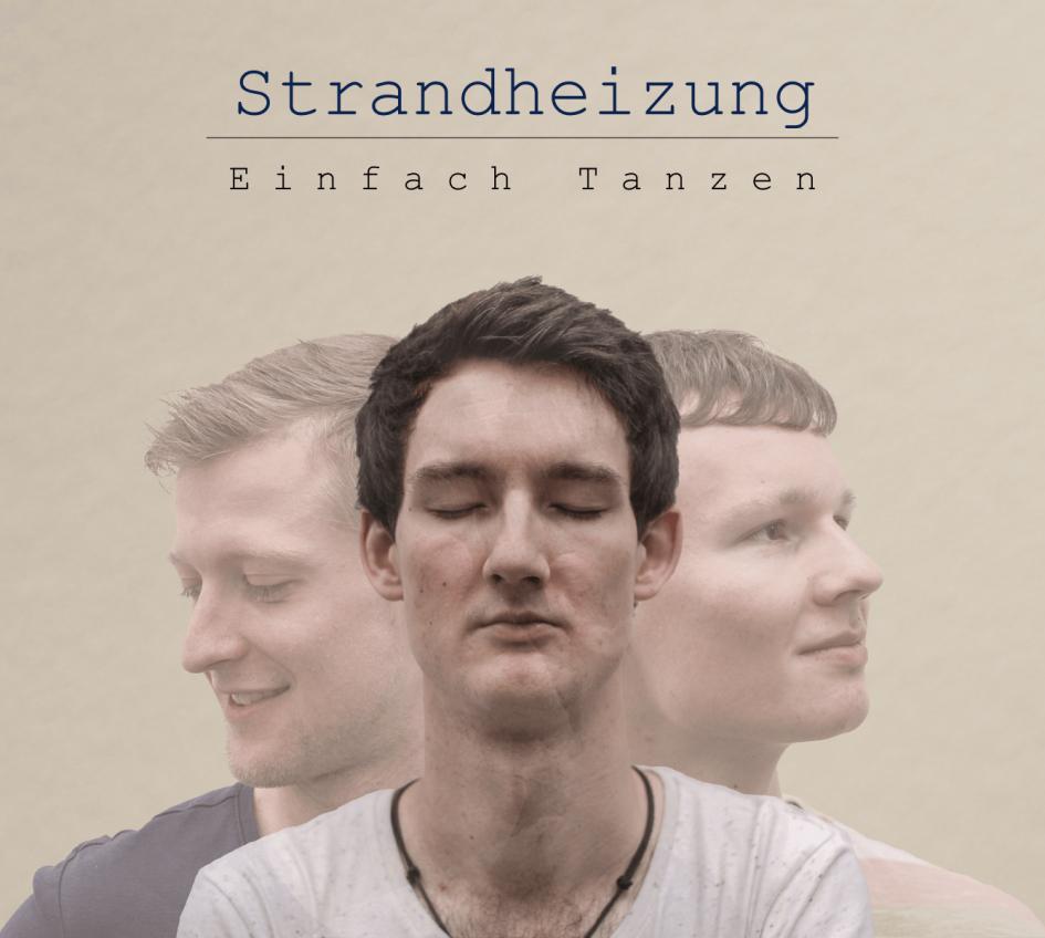 """Cover des Albums """"Einfach Tanzen"""" der Singer-Songwriter-Band Strandheizung aus Erfurt."""