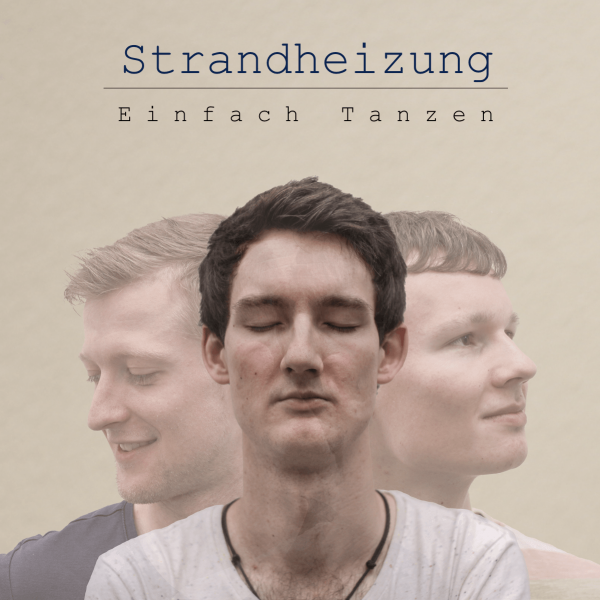 """Cover des Albums """"Einfach Tanzen"""" der Singer-Songwriter-Band Strandheizung"""