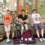 Foto der Singer-Songwriter-Band Strandheizung in Eisenach 2012.
