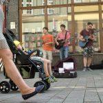Foto der Singer-Songwriter-Band Strandheizung auf ihrer Natürlich-Taktvoll-Tour 2015 in Eisenach.