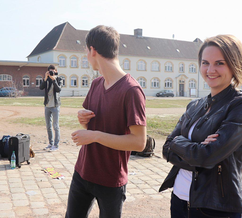 Foto vom Fotoshooting der Singer-Songwriter-Band Strandheizung in Leipzig 2019. Foto: Florian Eib