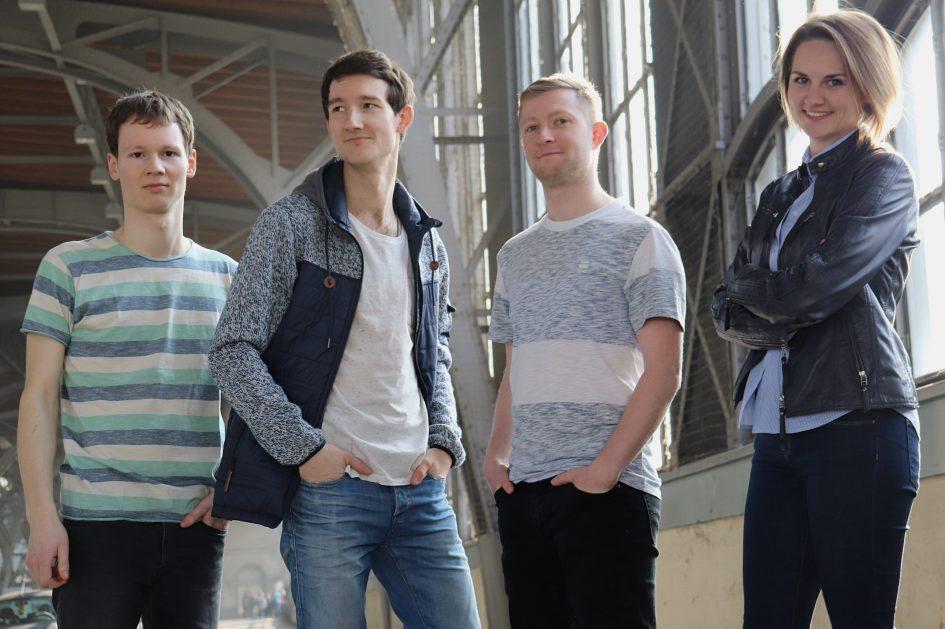Promotionsfoto der Singer-Songwriter-Band für die Aufnahme in die Spotify-Playlist von Muskelkater Records.