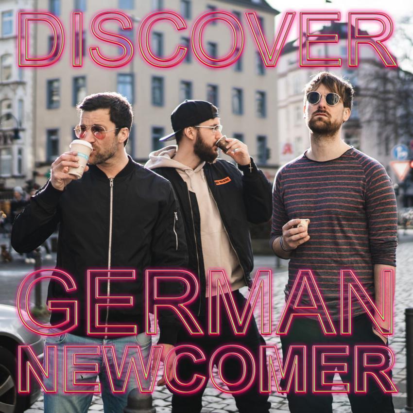 """Titelbild der Spotify Playlist """"Discovery German Newcomer"""", in die die Singer-Songwriter-Band Strandheizung im Februar 2021 aufgenommen wurde. Foto: Kasimir Jackson."""