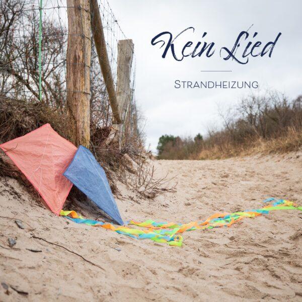 """Das Foto zeigt das Cover der Single KEIN LIED aus dem Album """"Wunderkinder"""" der Singer-Songwriter-Band Strandheizung von 2021. Foto: Bastian Kruskop."""