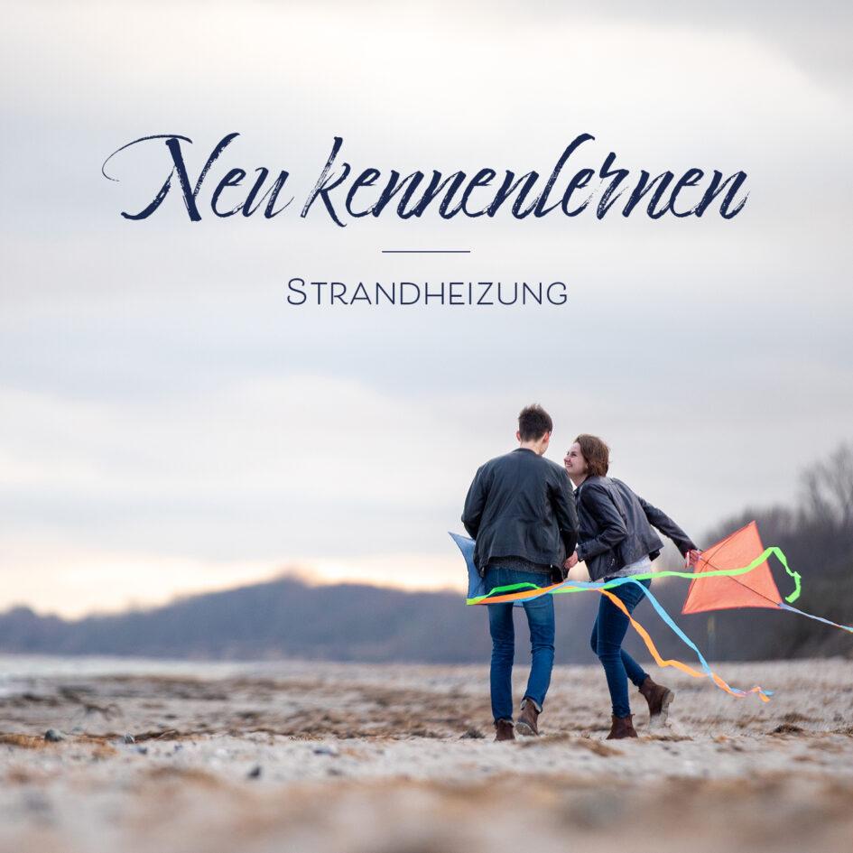 """Das Foto zeigt das Cover der Single """"Neu kennenlernen"""" aus dem Album """"Wunderkinder"""" der Singer-Songwriter-Band Strandheizung von 2021. Foto: Bastian Kruskop."""